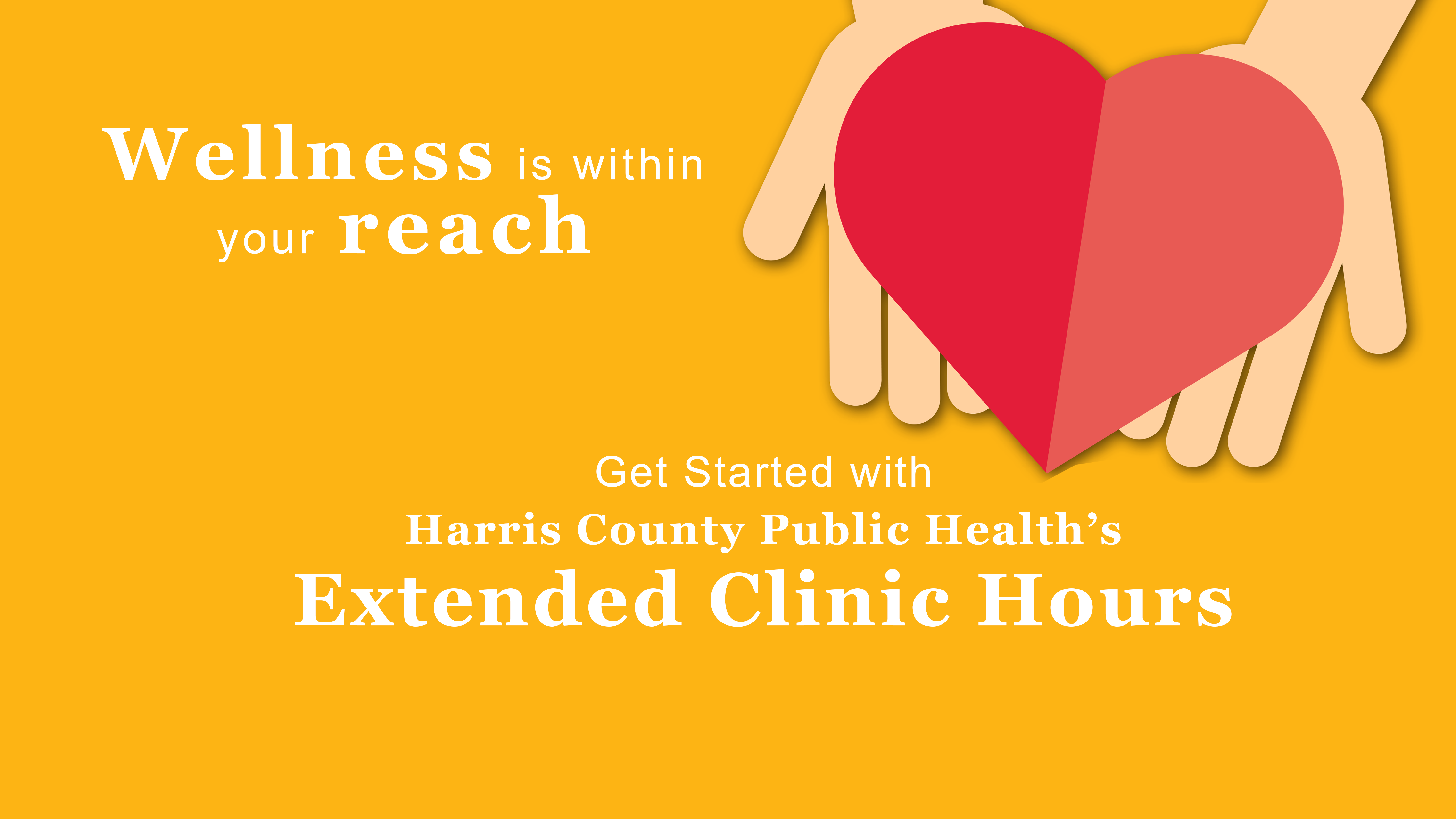 NEW Extended Clinic Hours